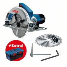 Bosch Profesionální sada: okružní pila GKS 190 + Toolbox