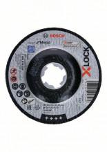 Bosch Řezání spřesazeným středem Expert for Metal systému X-LOCK, 115×2,5×22,23