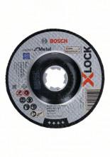 Bosch Řezání spřesazeným středem Expert for Metal systému X-LOCK, 125×2,5×22,23