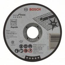 Bosch Tarcza tnąca prosta Best for Inox – Rapido