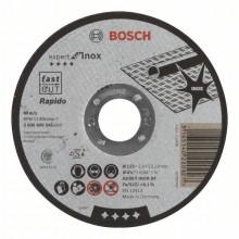 BOSCH Dělicí kotouč rovný Expert for Inox - AS 30 S INOX BF, 115 mm, 3,0 mm