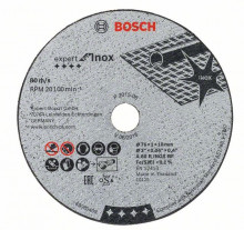BOSCH Řezný kot. EXPERT FOR INOX 76x1x10mm