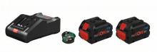 Bosch sada 2x Akumulátor ProCORE 18V 8,0Ah + nabíjačka + GCY - 1600A016GP
