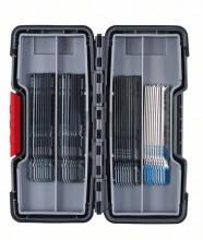 Bosch 30-częściowy zestaw brzeszczotów do wyrzynarek, Wood and Metal
