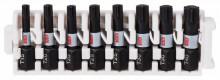 Bosch Zestaw bitów Impact Control do wkrętarek, 8 szt., 1 x T15; 2 x T20; 2 x T25; 2 x T30; 1 x T40