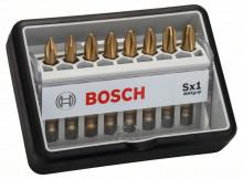 BOSCH (18+1)dílná sada šroubovacích bitů Robust Line, L Max Grip 25 mm, (18+1)dílná sada