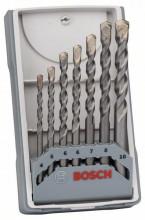 Bosch 5-częściowy zestaw wierteł do betonu Robust Line CYL-3