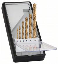 Bosch Súpravy vrtákov do kovu HSS-TiN