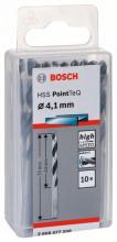 Bosch Spirálový vrták HSS PointTeQ 4,1mm