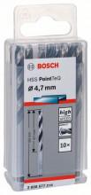 Bosch Spirálový vrták HSS PointTeQ 4,7mm