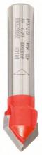 Bosch Frez do rowków w kształcie litery V ; 8 mm, D 31,8 mm, D 19 mm, G 51 mm, 90 °