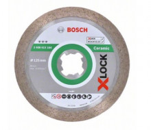 Bosch X-LOCK Best for Ceramic, 125×22,23×1,8×10