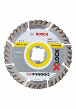 Bosch X-LOCK Standard for Universal, 125×22,23×2×10