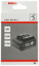 Bosch 18 V zásuvné akumulátory