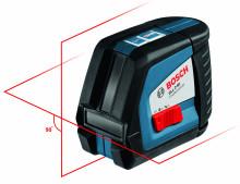 Bosch GLL 2-50 (3x baterie, příslušenství)