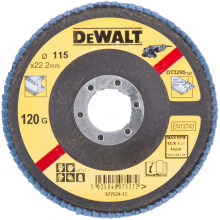 DeWALT brusný lamelový kotouč na kov plochý 115-22.2 mm 36G