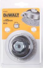 DeWALT drátěný talířový kartáč, vlnité dráty, pro úhlovou brusku 100 x 26 mm