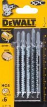 DeWALT DT2211 pilový plátek XPC, na dřevo,100 mm (5 ks)