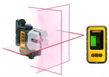 DeWALT DW089KD universální laser s přijmačem