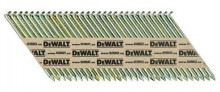 DeWALT pozinkované hladké hřebíky, 2200 ks, EC5 tř.2 2,8x63 mm