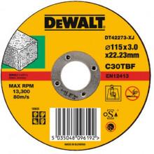 DeWALT řezný kotouč na kámen, plochý 115-22.2-3 mm