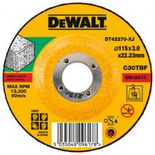 DeWALT řezný kotouč na kámen vypouklý 115-22.2-3 mm