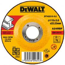 DeWALT řezný kotouč na kov, vypouklý  125-22.2-3 mm
