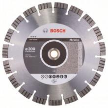 BOSCH Diamantový dělicí kotouč Best for Abrasive - 400 x 20,00+25,40 x 3,2 x 12 mm