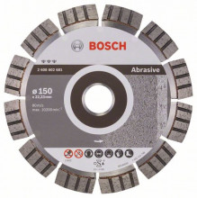 Bosch Diamantový rezací kotúč Best for Abrasive