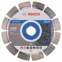 BOSCH Diamantový dělicí kotouč Expert for Stone - 230 x 22,23 x 2,4 x 12 mm