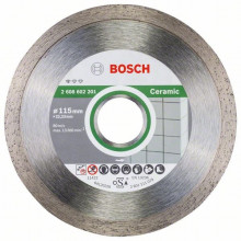 BOSCH Dia kotouč Standard for Ceramic l- 10 ks balení - 125mm