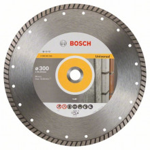 BOSCH Diamantový dělicí kotouč Standard for Universal Turbo - 230 x 22,23 x 2,5 x 10 mm