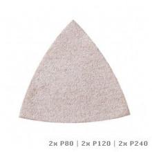 DREMEL® Multi-Max brúsny papier na farby a laky (P80, P120 a P240)