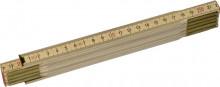 STANLEY Dřevěný skládací metr přírodní 2m