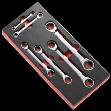 Facom Modul s 6 ráčnovými očkovými klíči