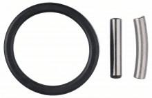 BOSCH Fixační sada: upevňovací kolík a gumový kroužek - 5 mm, 25 mm
