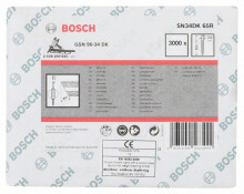 Bosch Klinec – páskovaný, s hlavičkou v tvare písmena D SN34DK 65R