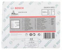Bosch Gwóźdź łączony papierem, łeb D, SN34DK 80RG