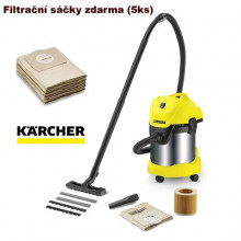 Karcher WD 3 Premium + filtrační sáčky