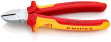 Knipex Boční štípací kleště chromované 180 mm, izolované do 1000 V