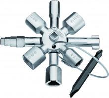 KNIPEX TwinKey® pro běžné skříně a systémy zavírání 92 mm