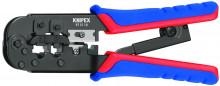 Knipex Lisovacie kliešte pre konektory Western brunýrované 190 mm