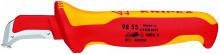 Knipex Nůž pro odstraňování plášťů 155 mm, izolovaný do 1000 V