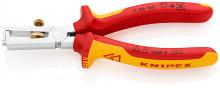 Knipex Odizolovacie kliešte chrómované 160 mm