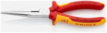 Knipex Půlkulaté kleště s břity chromované 200 mm, izolované do 1000 V