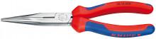 Knipex Polkruhové kliešte s britmi fosfátované atramentolom na čierno 200 mm
