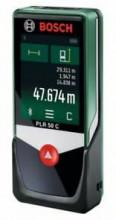 Laserový diaľkomer BOSCH PLR 50 C