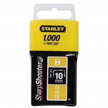 """STANLEY 6mm/1/4"""" Spony standardní 1000 ks typ H"""
