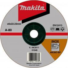 Makita TARCZA SZLIFIERSKA INOX 180x6x22,23mm