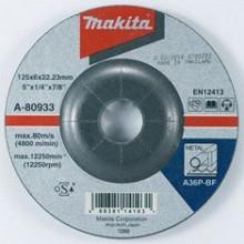 Makita TARCZA SZLIFIERSKA DO METALU 125x6x22,23mm